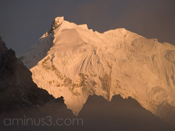 Sunset in the Langtang