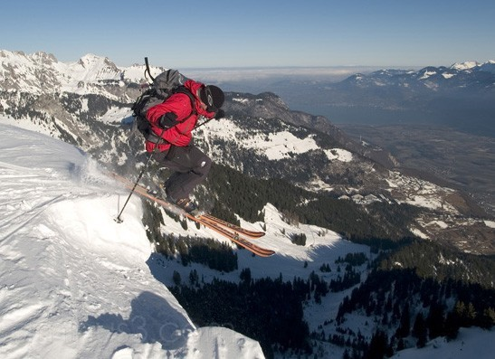 jumping off the cornice