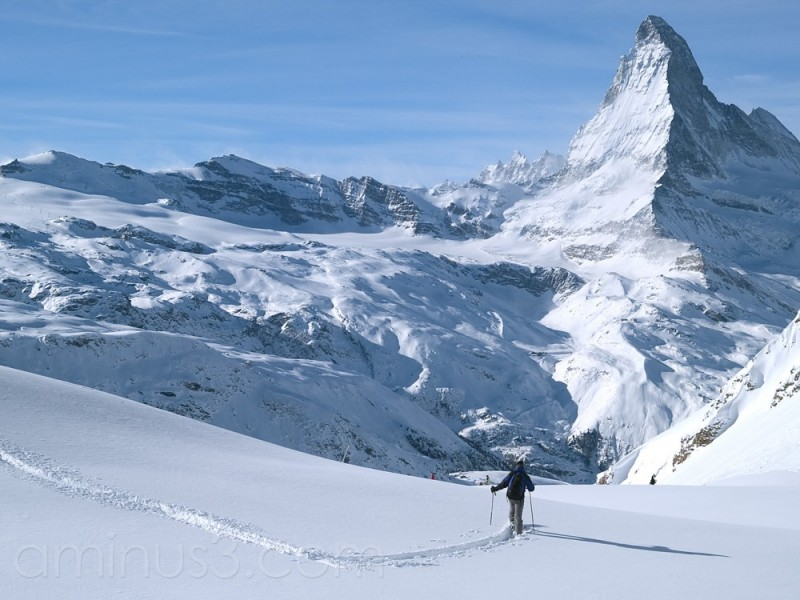 Off piste paradise in Zermatt
