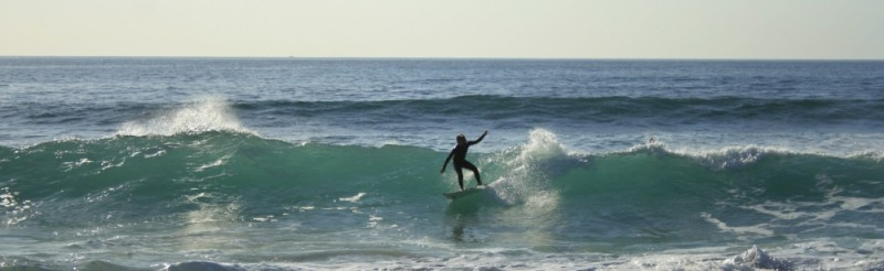 Surf in Ribeira d'Ilhas