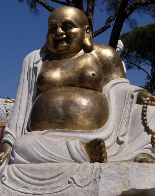 Buddha dourado II - Buddha Eden