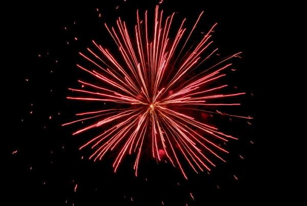 Fireworks - Colete Encarnado 2012