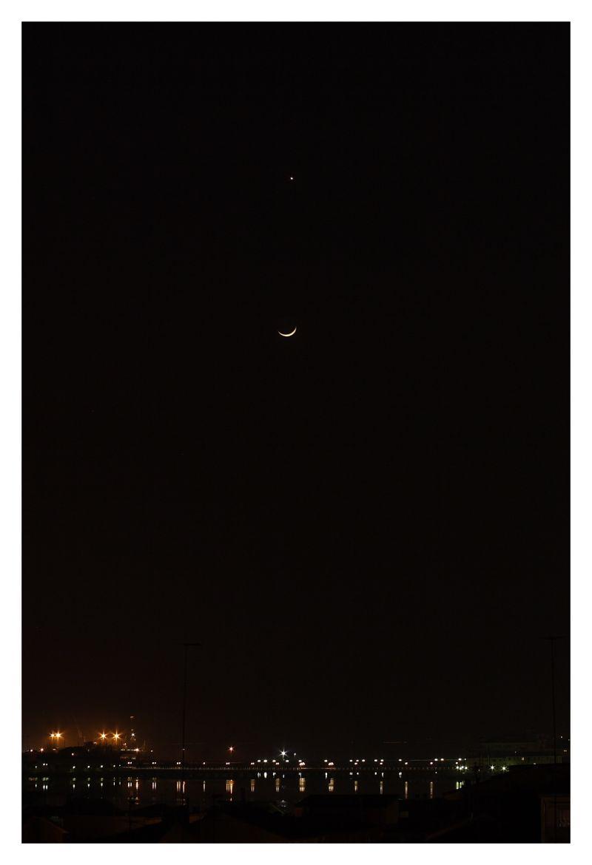 venus, moon & lagoon