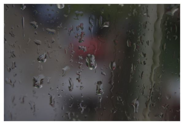 rain and window