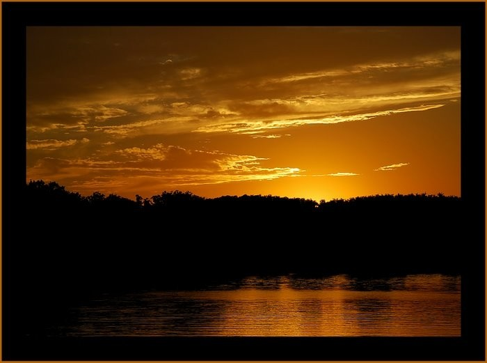 Sunset at Lake of the Ozarks.