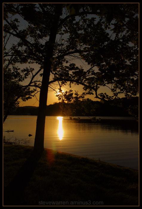 Shoreline Silhouette Xll