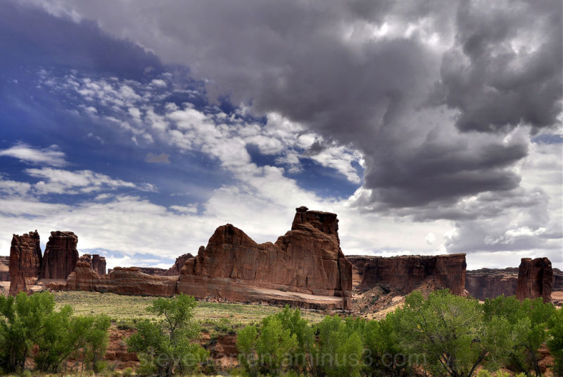 Arches National Park, Clouds