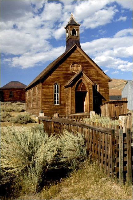 architecture bodie california brown could