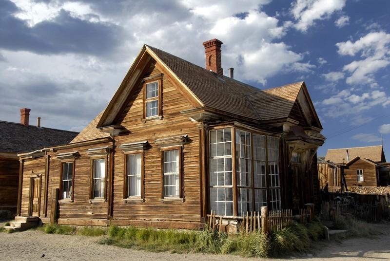a beautiful home in bodie california