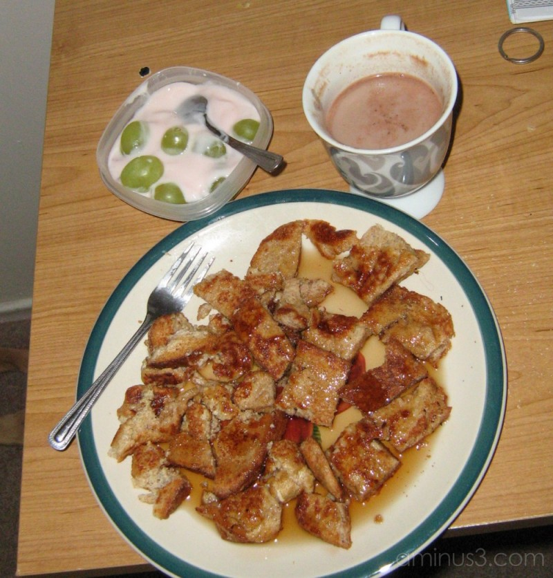 delicous french toast breakfast