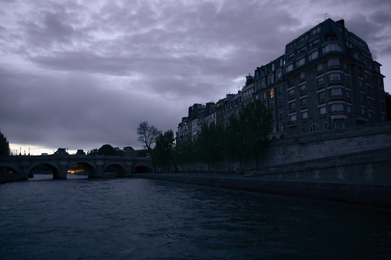 The Bank of the Seine, 9:01 p.m.