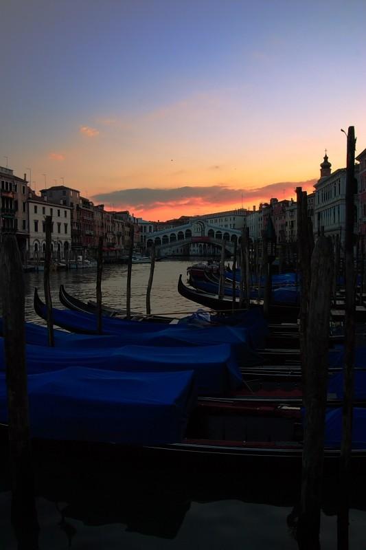 Venice, 6:32 a.m.