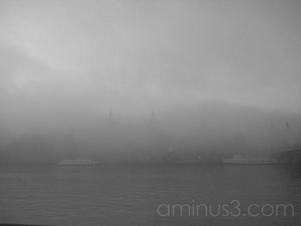 A Misty London Skyline