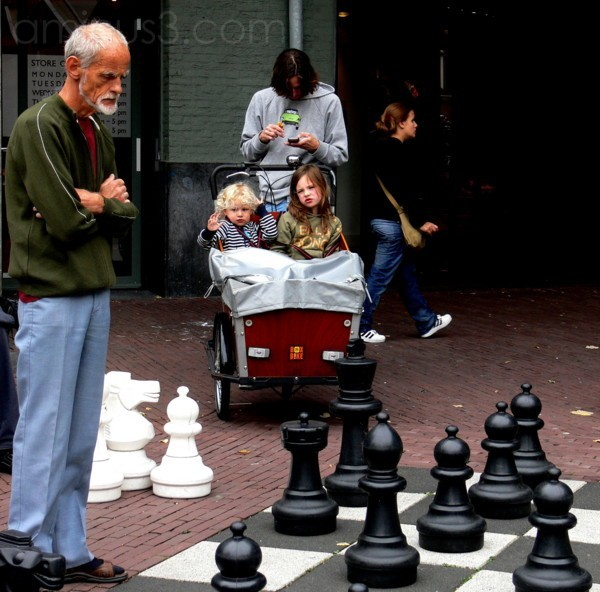 giocatore di scacchi (Amsterdam)