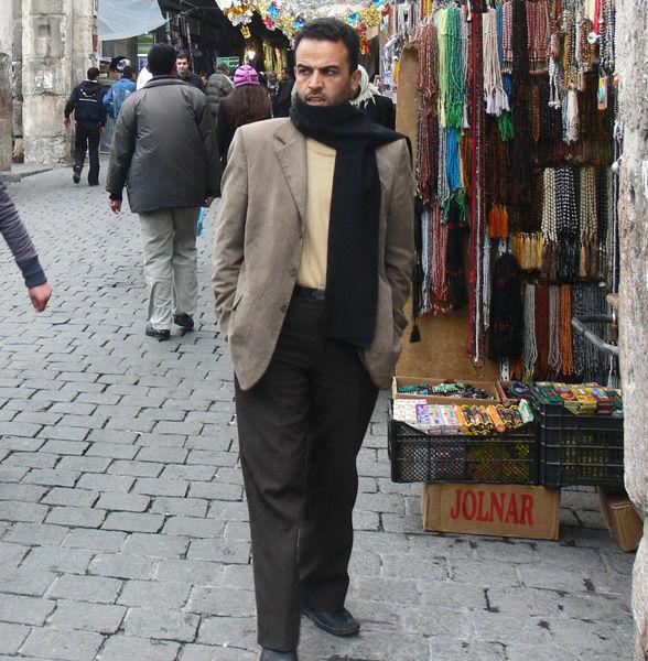 Siria Damasco venditore mercante
