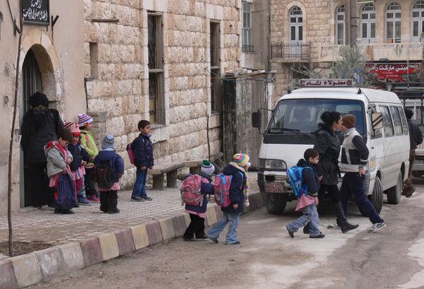 Siria scuola bambini classe