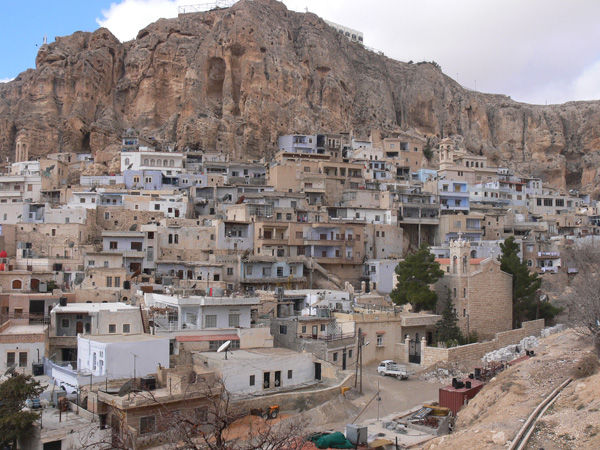 Maloula Siria montagna