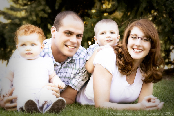 Ben, Alicia, Brigham & Grace