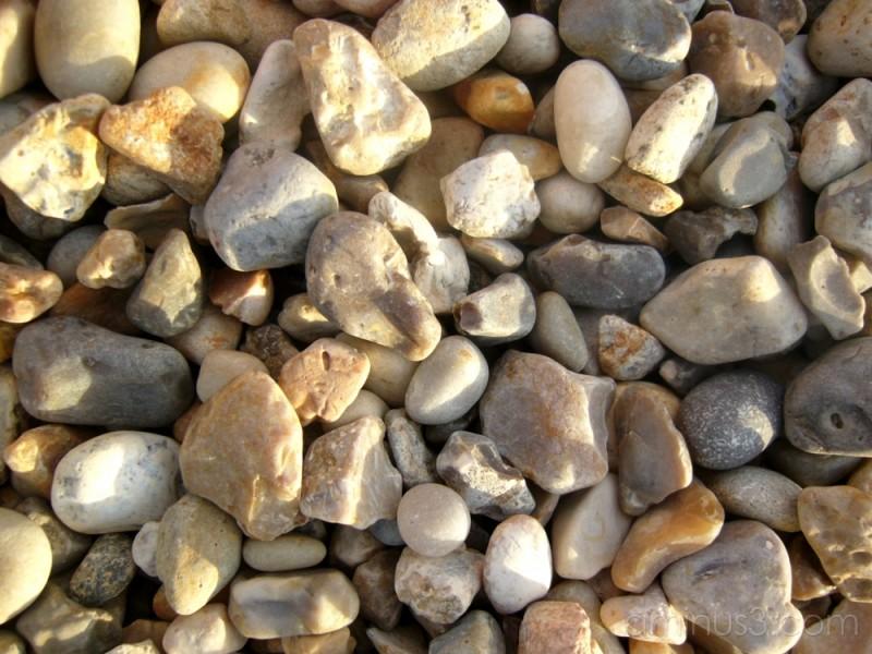 It's stony here!