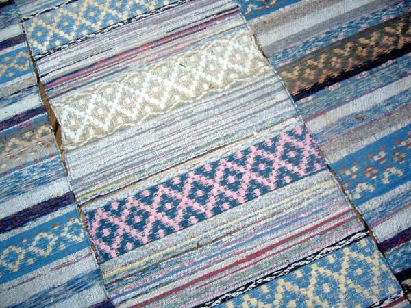 Aunt's rag-carpets.