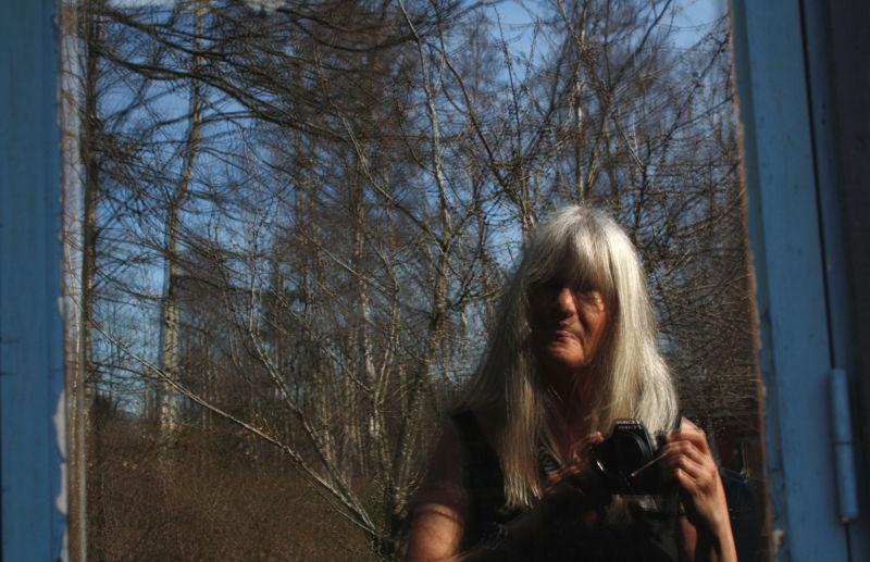 Self-portrait in spring.
