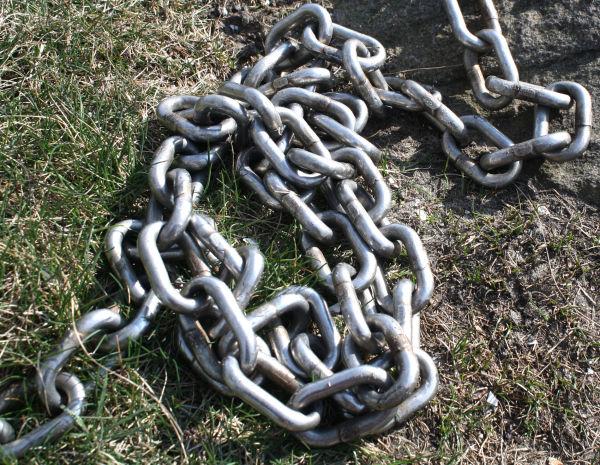 Chains.