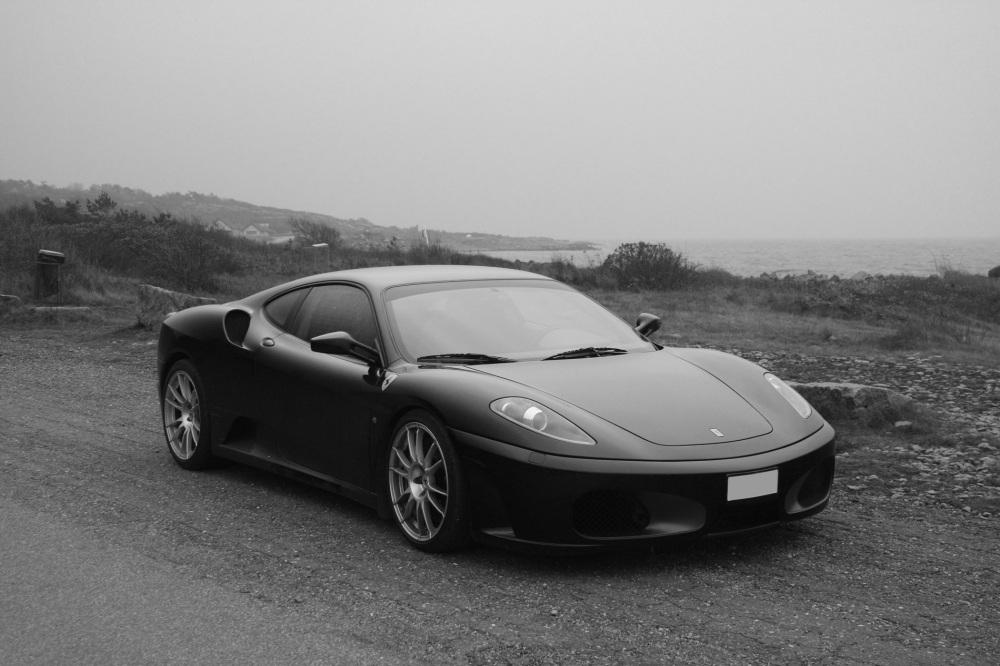 Ferrari near Hemliga Viken (The Secret Bay).