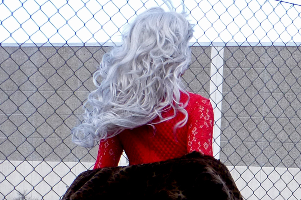 It was enough to turn her hair grey.