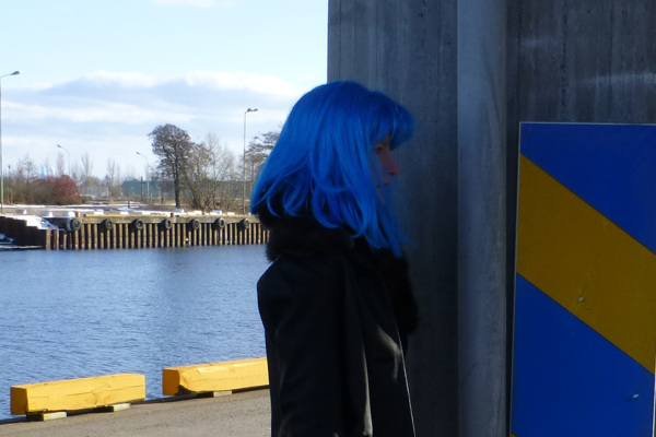 Very Swedish (yellow and blue).