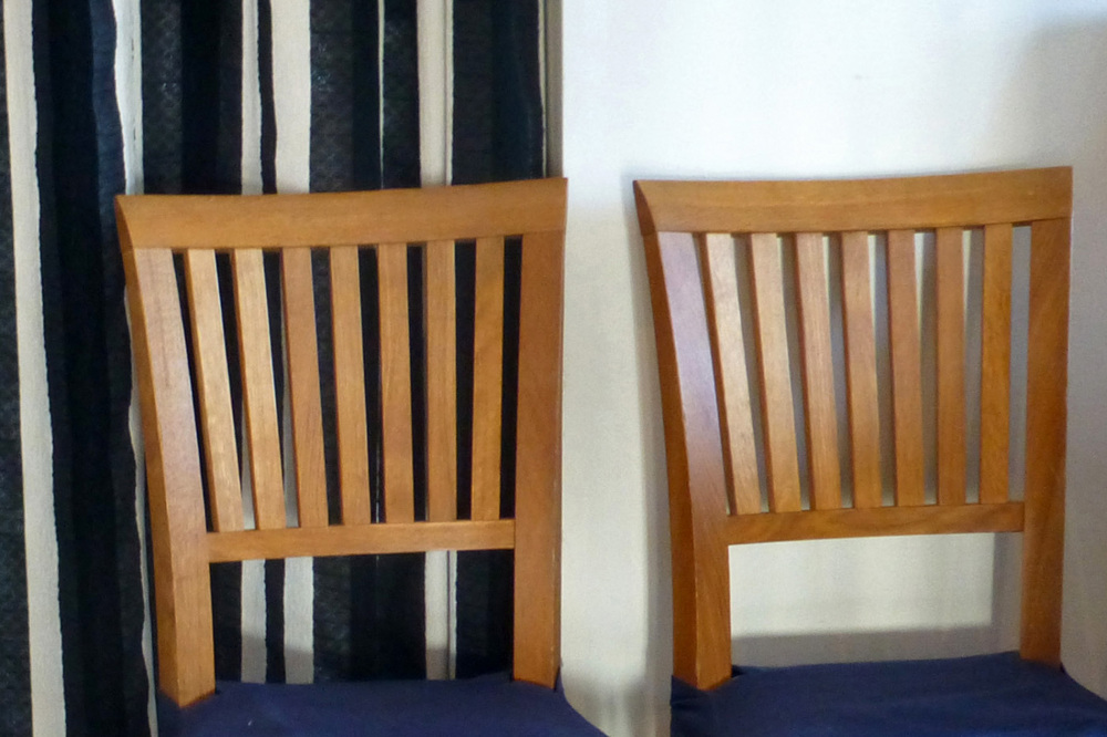 Chairs.