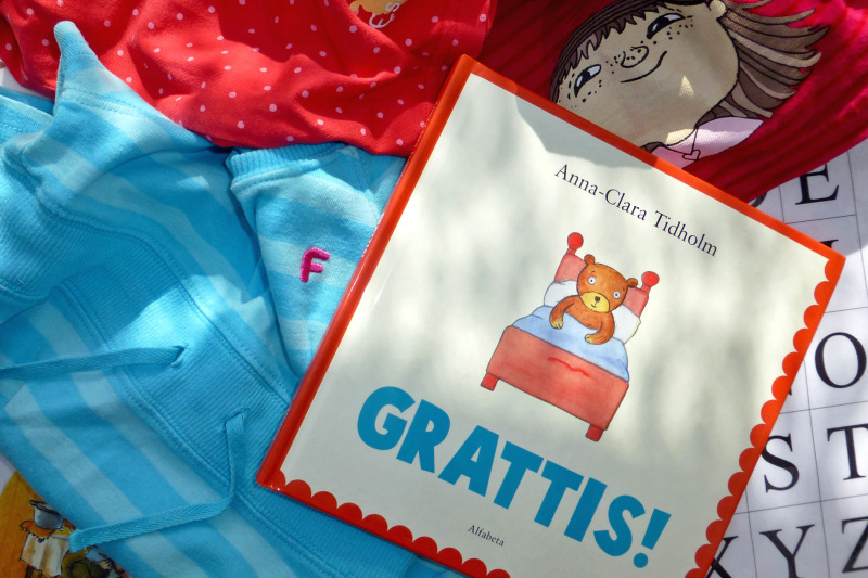 Grattis A! (Congratulations A!)