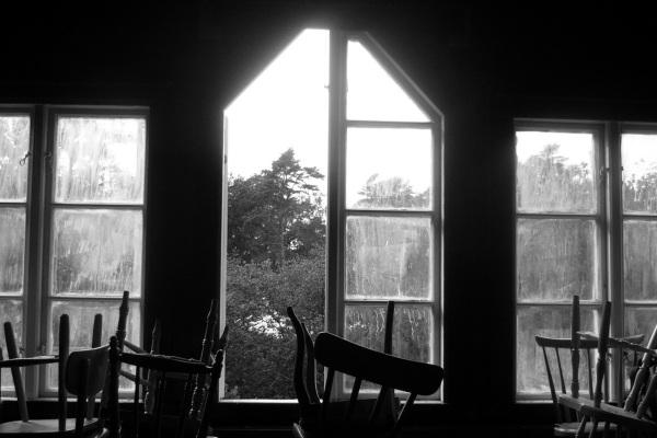 In the old attic.