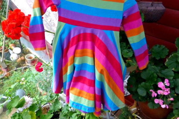 Like a rainbow.