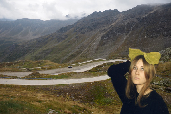 When she was in Switzerland.