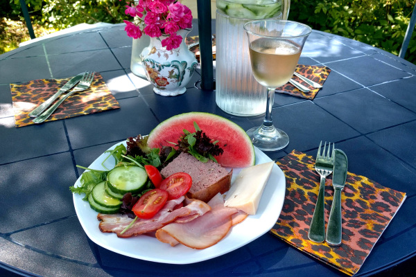 Summer lunch.