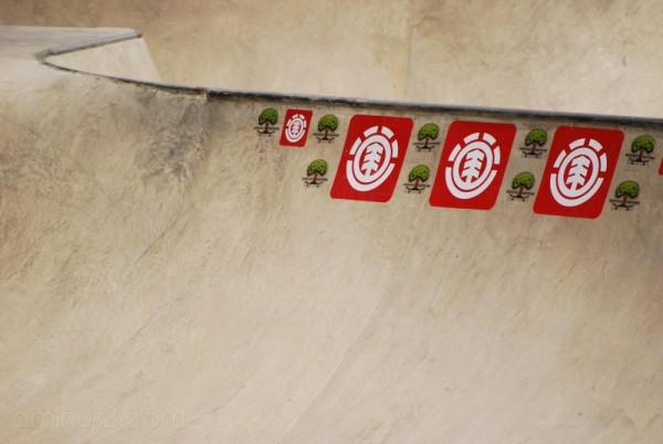 element at Crawley skate park