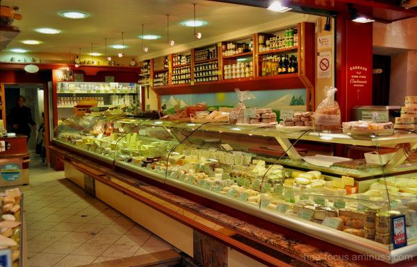 cheese stall, paris
