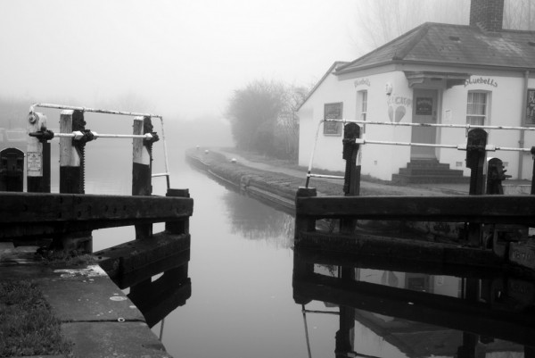 martson lock on aylesbury canal