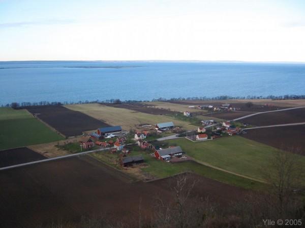 View over Vättern / Vy över Vättern