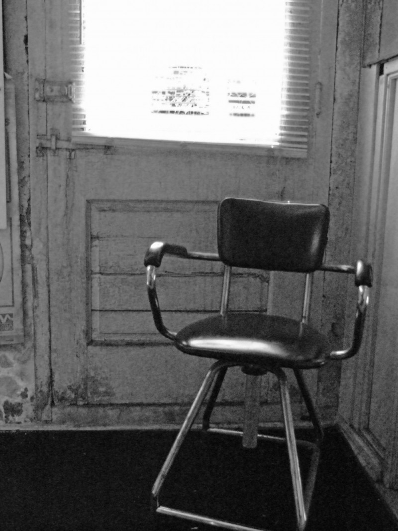 A lonley chair