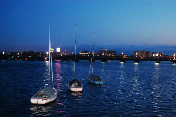 Charles River in the Evening