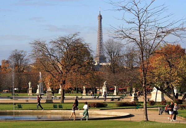 Les jardins du Carrousel et des Tuileries