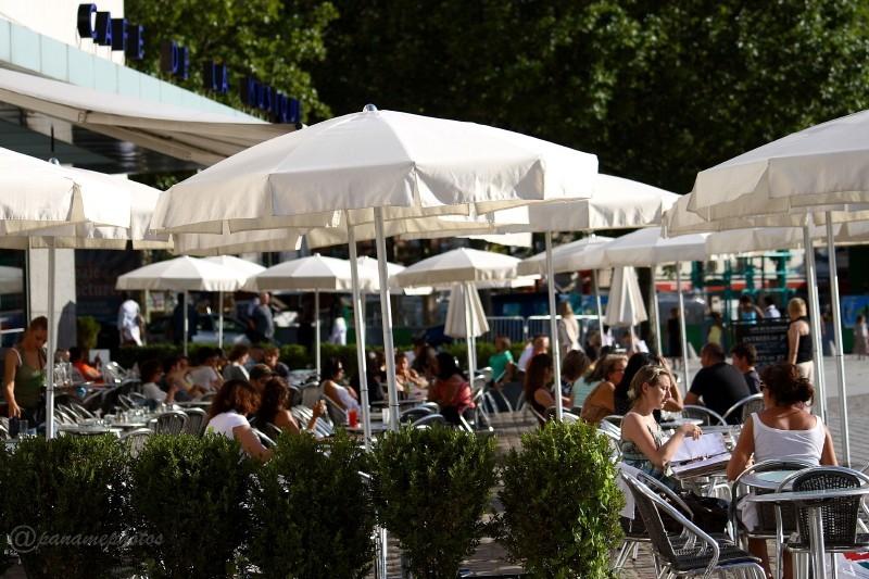 Café de la Musique (Parc de la vilette  19 Eme )
