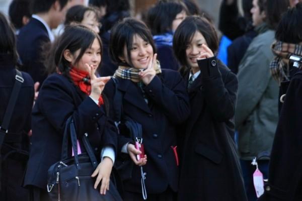 A nous les petites Japonaises
