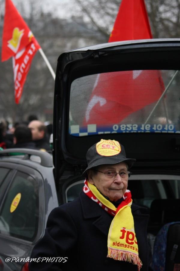 Manifestation Des Taxis Parisiens