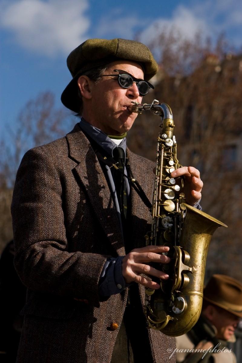 Le Saxophoniste de l'isle St Louis
