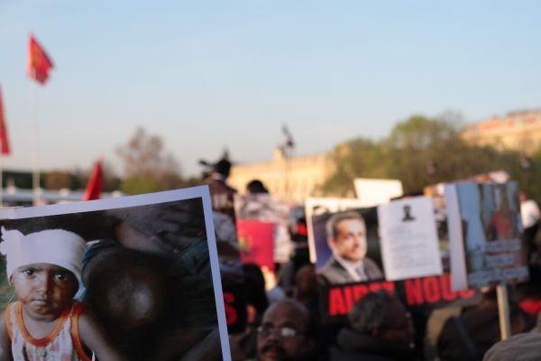 Manifestation Tamoul Invalides