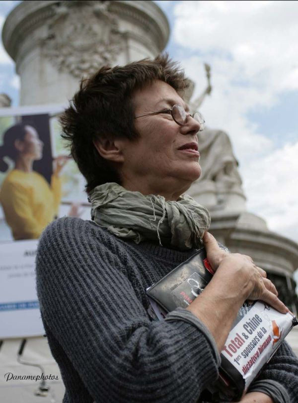 Manifestation de Soutien à  AUNG SAN SUU KYI