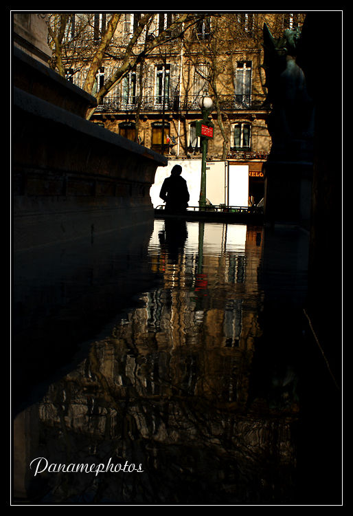 L'inconnue du bassin St Michel