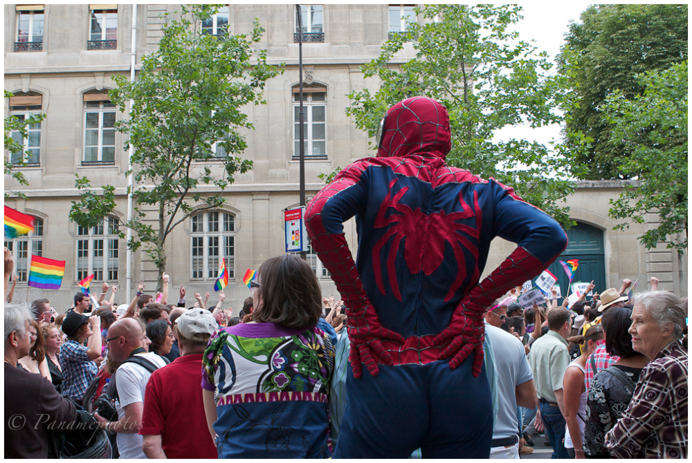 Spiderman et la Gay Pride